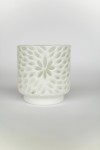Etched Floral Luminary