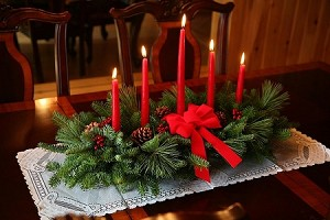 """Classic"" 5 Candle Centerpiece 