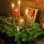 Cinnamon Stick 3 Candle Centerpiece | Christmas Centerpiece
