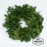 Mixed Greens 24in Wreath | Christmas Wreath